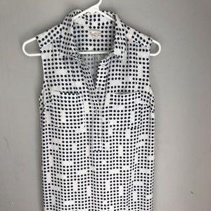 Polka Dot Dress with Slip
